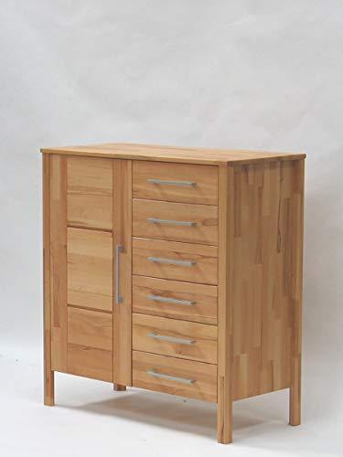 Main Möbel Kommode 100x106cm 'Bozen' Kernbuche geölt