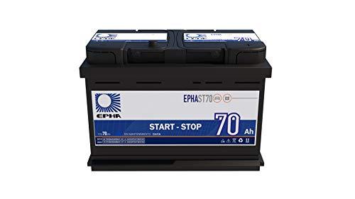 EPHAST70 Bateria EFB 70 Ah 720EN +DER