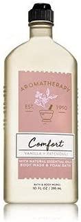 Bath & Body Works Aromatherapy Comfort - Vanilla & Patchouli Body Wash & Foam Bath, 10 Fl Oz