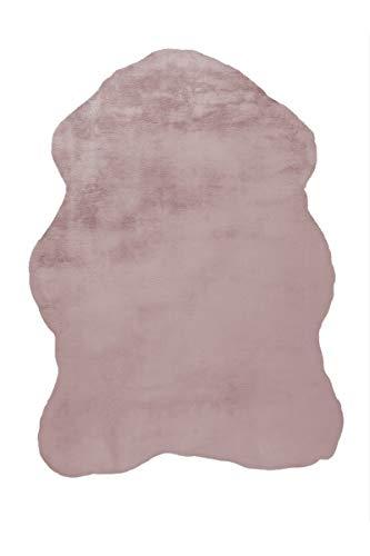 Arte Espina Teppich Rabbit Sheepskin 200 Rosa 60x90cm