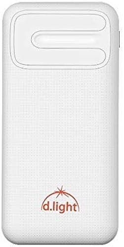 d light PB10 Slim Ultra Sleek Pocket Sized Power Bank 10000 mAh for Fast Charging
