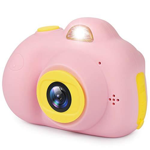 LeaderPro Cámara Digital para Niños Infantil con 8 Megapíxeles 2 Pulgadas Pantalla LED con 16GB Tarjeta de Memoria Regalo para Niños