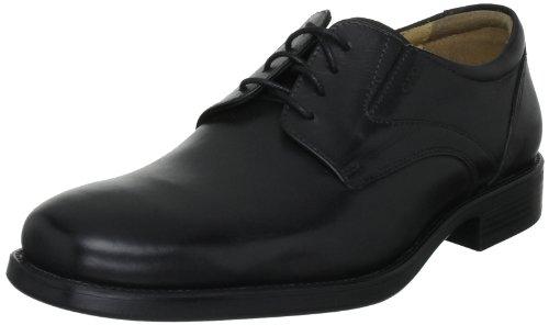 Geox U Federico V, Zapatos de Cordones Derby Hombre, Negro (Black C9999), 44 EU