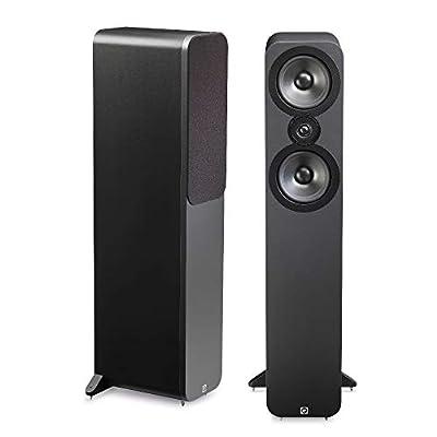 Q Acoustics 3050 Floorstanding Speakers (Pair) (Graphite) (Renewed) from Q Acoustics