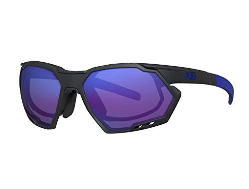 Armações para óculos de grau, Rush, HB, Unissex, Grafite Mate