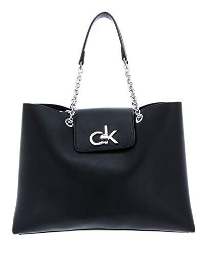 Calvin Klein Damen RE-Lock Transportkiste, Schwarz, OS