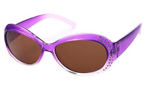 Kiddus POLARISIERTE Sonnenbrille für Mädchen, Jungen, Kinder, Jugendliche. UV400 100% Schutz gegen ultraviolette Sonnenstrahlen. Ab 6 Jahren. Mit Stil. Modisch. FABULOUS
