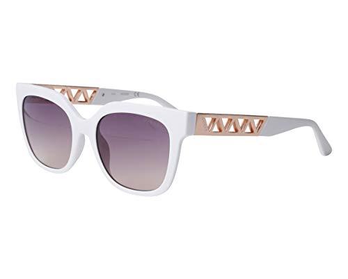 Guess gafas de sol GU7691 21F gafas de Mujer color Blanco marrón tamaño de la lente 54 mm