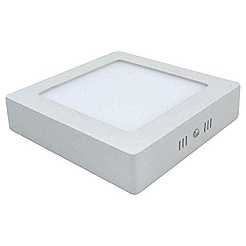 Drumstone ON Offer{Pack of 2} 9 Watt Square Surface Led, Natural White Light (4000K)