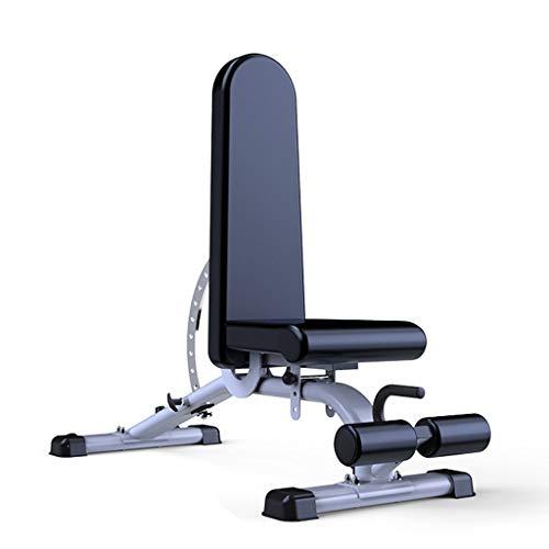 GFFTYX Banco de pesas de entrenamiento ajustable Banco de ejercicios - Banco comercial profesional con mancuernas Ejercicio de Marcy Banco de servicios for verticales, inclinados, declinados y ejercic