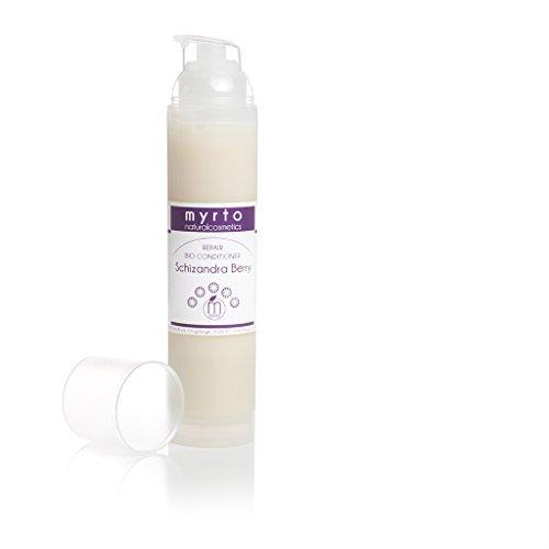 myrto – Hanf Bio Repair Conditioner - Leave-in gegen Haarbruch und Spliss | für glänzendes Haar - alkoholfrei - ohne Silikone - ohne Konservierungsstoffe - vegan - 100ml