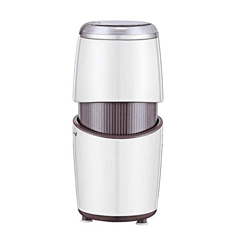 ZOUSHUAIDEDIAN Coffee Grinder Electric, Coffee Bean Grinder Electric Mill Spice Grinder, Portable & Compact Grinding Tools for Spices, Pepper, Herbs, Nuts, Seeds, Grains,The Best Gift for Coffee Lover