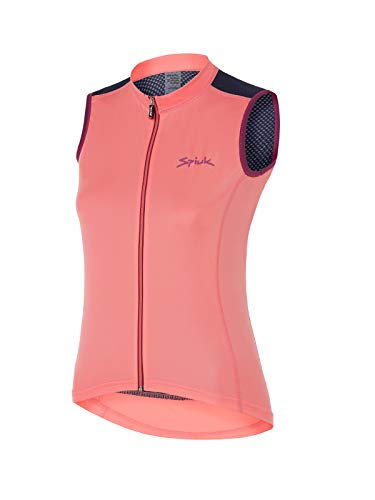 Spiuk Race Maillot S/M, Mujeres, Coral, T. S
