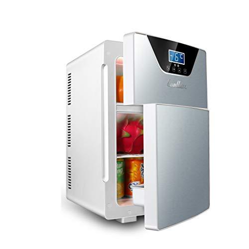 Mini-réfrigérateur Lxn Réfrigérateur et réchauffeur électriques, Version 20L - Double Porte/Triple Noyau - pour la Maison, Le Bureau, la Voiture, Un dortoir ou Un Bateau-Compacts et Portables