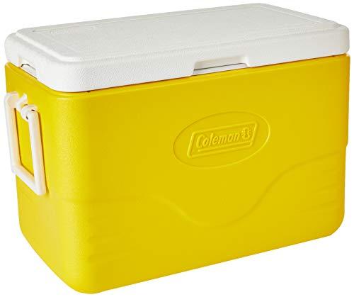 Caixa Térmica 28 QT (26,5 L), 36 Latas, Coleman, Amarelo