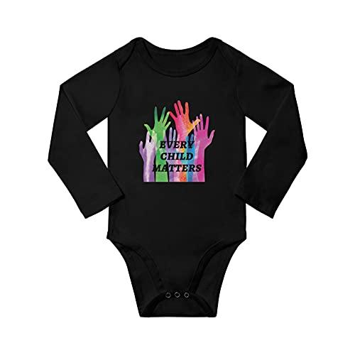Every Child Matter Unisex Baby Long Sleeve Bodysuit