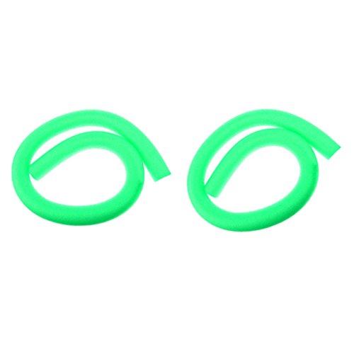 sharprepublic 2 Unidades para Niños Adultos Piscina Fideos Huecos Flotador de Espuma Sólida Nadar - Verde