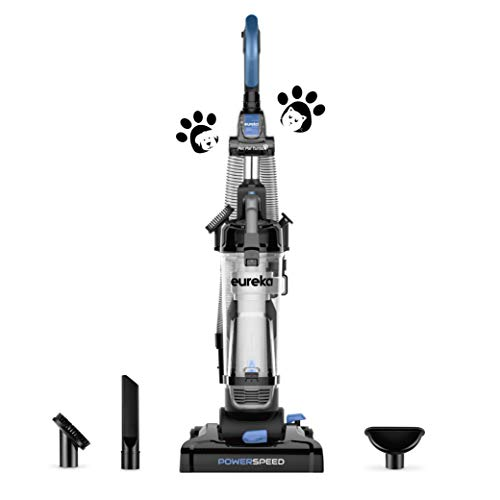 Product Image of the EUREKA PowerSpeed Bagless Upright Vacuum Cleaner, Pet Turbo, Black