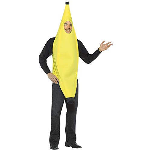 Rasta Imposta Lightweight Banana Costume, Yellow, One Size