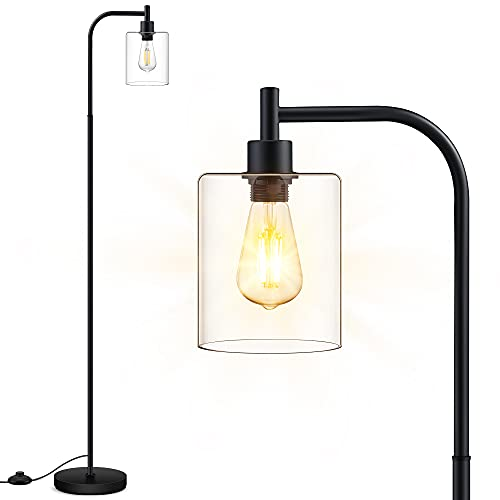 Floor Lamp, Standing Lamp with Glass...