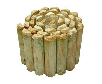 Bordura de madera. Dimensiones: 200x 2000mm
