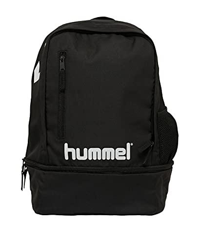 hummel Sac À Dos Promo Bolsa, Unisex niños, Negro, TU EU