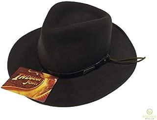 Indiana Jones Cowboy Hat 100% Wool Felt Quality Felt IJ003 Authentic