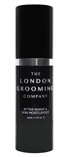 The London Grooming Company - Bálsamo After Shave Hidratante para Hombres, Post Afeitado Calmante...