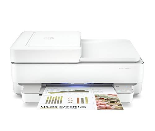 HP プリンター HP ENVY Pro 6420 2020年モデル インクジェット複合機 スマートフォン連携 スキャン 無線LAN ADF機能 自動両面印刷(型番:6WD16A0-AAAA)