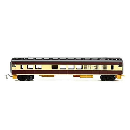 THQC Juguete del Tren eléctrico de 10 Estilos de Tren de Cabeza El Vapor locomotoras Diesel Modelo Frecciarossa los carros de locomotoras for niños (Color : Carriage D)