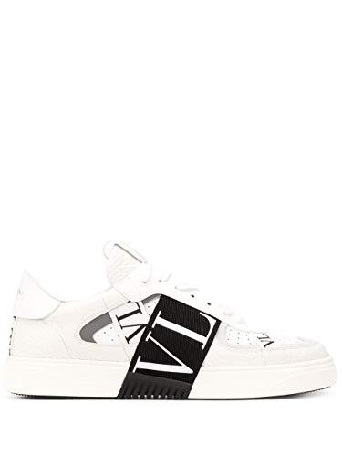 Valentino Luxury Fashion Garavani Herren TY2S0C58WRQ24P Weiss Leder Sneakers | Frühling Sommer 20
