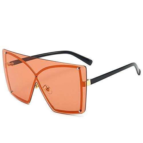 MEAOR Sonnenbrillen Frauen Mode Monokel Sonnenbrillen Rahmenlose übergroße Rahmen weibliche Sonnenbrillen Brille