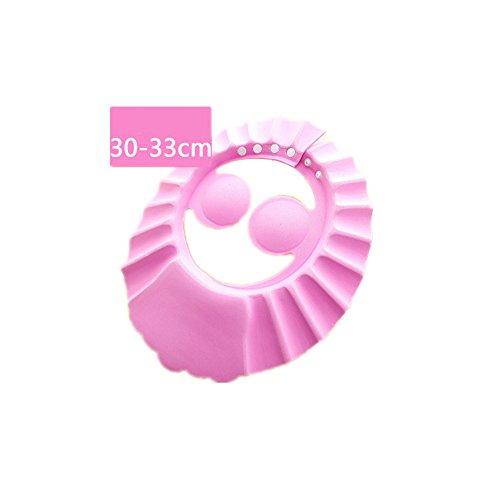 CAOLATOR Lave-vaisselle Shampooing Douche Bain de protection doux Bonnet pour enfant, bébé, enfants Enfants à garder l'eau hors de leur visage et yeux