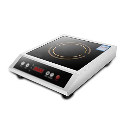 SJHSAIU Kommerzielle Cooker, 3500W High Power Desktop-Induktions-Herd, Flach Suppe Kochen Restaurant Küche Herd, Haushalt Abendessen Feuer Boiler