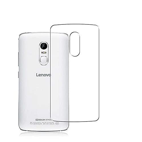 Vaxson 2 Stück Rückseite Schutzfolie, kompatibel mit Lenovo Vibe X3 c78, Backcover Skin TPU Folie [nicht Panzerglas/nicht Front Bildschirmschutzfolie]