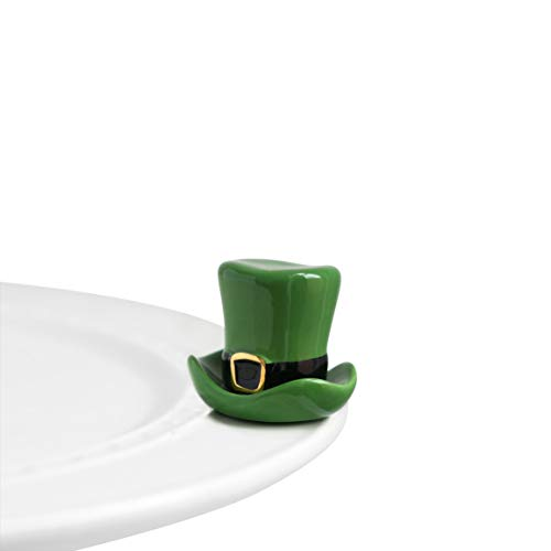Nora Fleming Hand-Painted Mini: Spot o' Irish (St. Patty Hat) A87