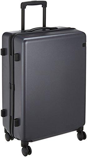 [エース トーキョー] スーツケース コーナーストーンZ 双輪キャスター 06233 74L 60 cm 4.1kg ガンメタリック