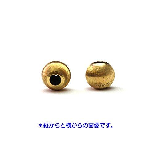 『[ ハッピーボム ] K18 シリコン入り ムーブボール シルクタイプ 3mm 1個 18金 イエローゴールド 189MVBL_SLK_30』の2枚目の画像