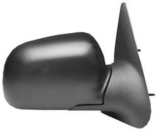 Dorman 955-006 Driver Side Manual Door Mirror - Folding for Select Ford Models, Black