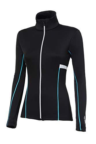 zerorh+ Moos W Vêtement pour Femme, Femme, IND2806 94IXXL, Black/Glacier Azure/White, XXL