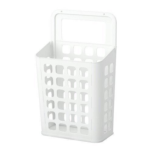 Ikea VARIERA   Cubo de la Basura, Blanco   10 l