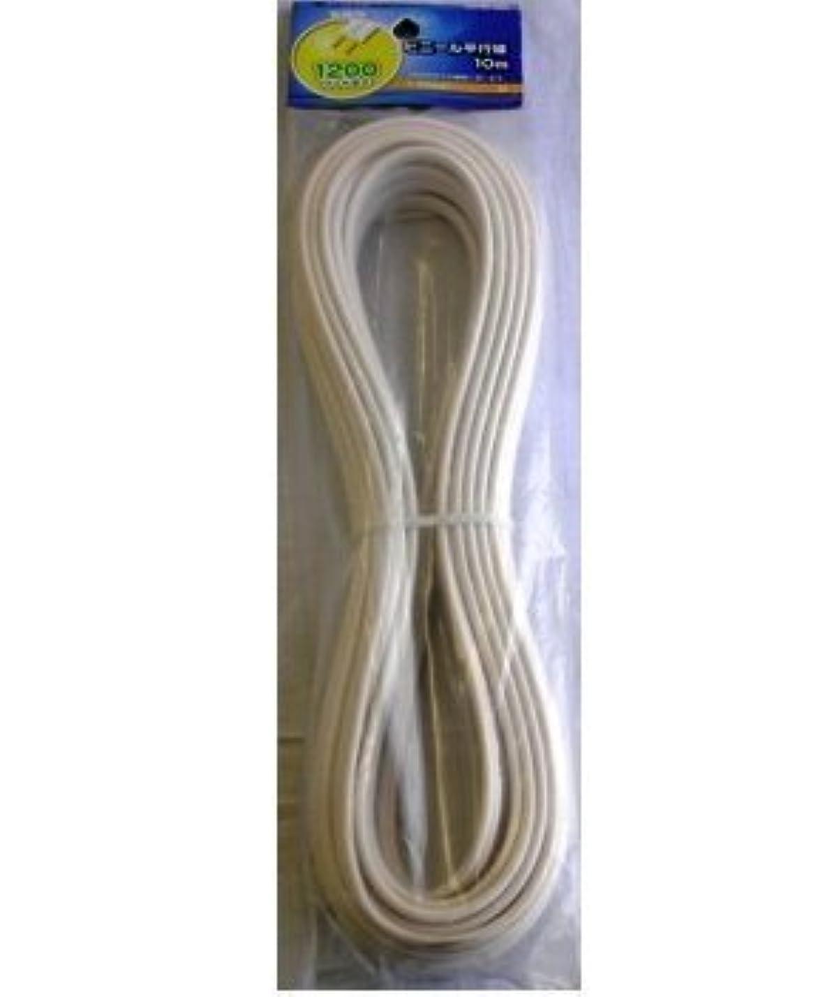 香ばしいカビ活性化するOHM 配線用 ビニール平行線 白 2m 1200W (04-7329)