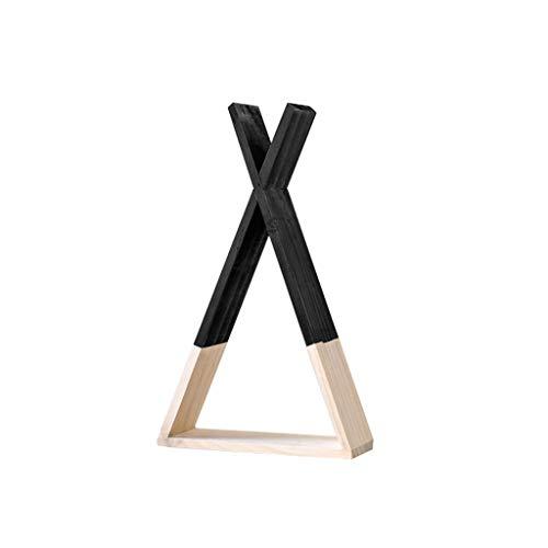 LDG Houten zwevende rekken, wandbehang modern wandrek voor hoofdwoonkamer slaapkamer boekenrek planken