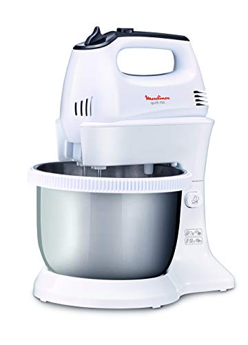 MOULINEX Hand Mixer with stand AND STAINLESS STEEL bowl