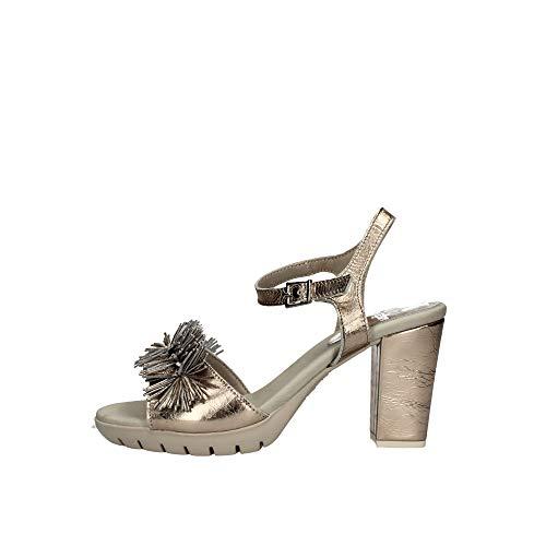 CALLAGHAN Sandalias de Zapatos de Mujer con tacón 99109 Platinum Talla 37 Platinum