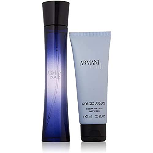 Giorgio Armani code geschenkset femme / woman. eau de parfum, vaporisateur / spray 75 ml, bodylotion 75 ml, 1 Set