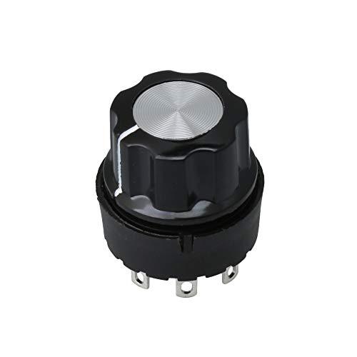 BQLZR Drehschalter mit Drehknopf für Mixer, Saftpresse, Soja Bohnen Milch Maschine, Heimgerät, Leistung unter 800 W