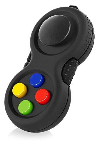 Classic Controller Game Pad Fidget Fokus Spielzeug Mit 8-Fidget Funktionen Und Lanyard Für Streßvermindernde