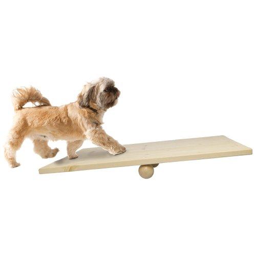 Wackelbrett-Wippe 60 x 40 cm trägt zu Ruhe und Gelassenheit bei Sich bewegende Untergründe sind von Natur aus Angst Auslöser bei Hunden
