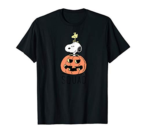 Peanuts Halloween Snoopy and Woodstock Kader T-Shirt